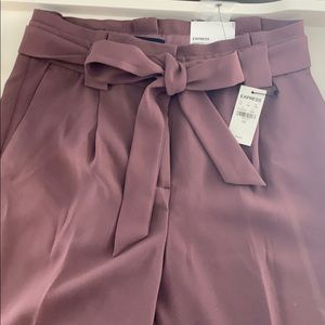 High rise ankle pants